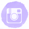 Lilac watercolor Instagram social media icons