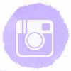 Lilac watercolor Instagram social media icons